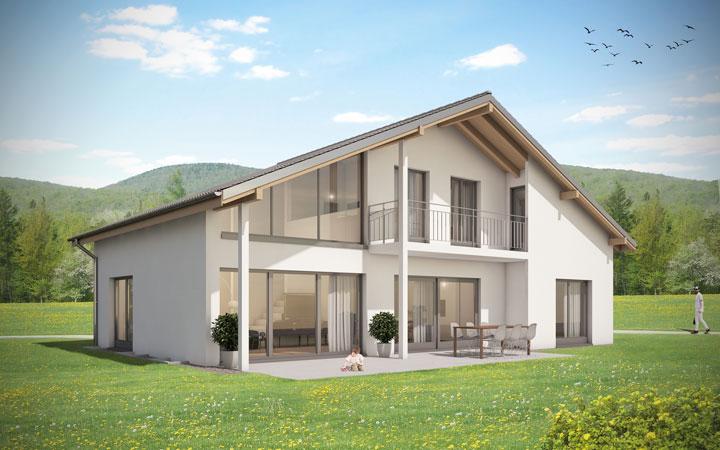 einfamilienhaus bauen kosten preis grundrisse hausideen architekturbuero. Black Bedroom Furniture Sets. Home Design Ideas