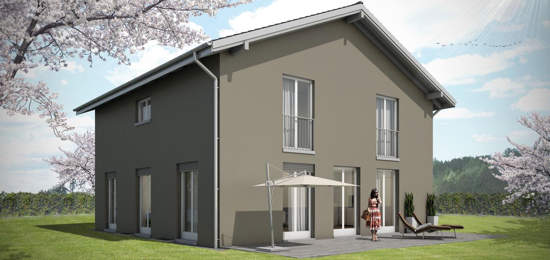 traumhaus 221 einfamilienhaus bauen kosten grundrisse hausidee architekturbuero. Black Bedroom Furniture Sets. Home Design Ideas