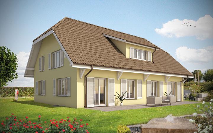 Stadtvilla Landhausstil landhaus bauen modernes landhaus einfamilienhaus landhausstil