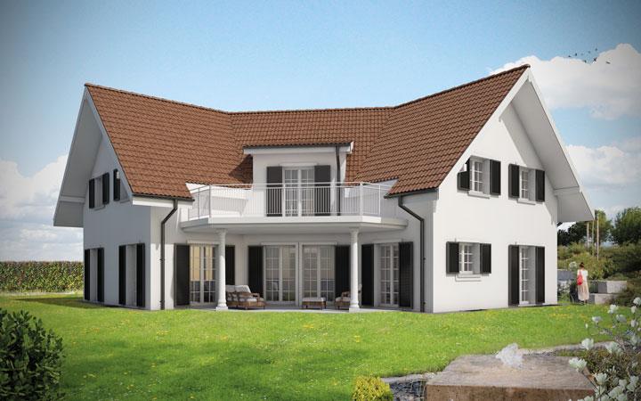 einfamilienhaus bauen kosten preis grundrisse. Black Bedroom Furniture Sets. Home Design Ideas